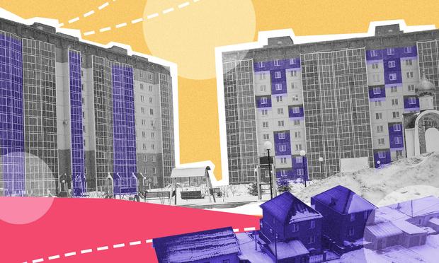 Фото №1 - ЖК «Софийский квартал»: парк, фуры и «панельки» на месте трамвайного депо