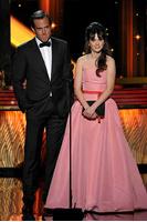 Zooey Deschanel, Will Arnett, 63rd Primetime Emmy Awards