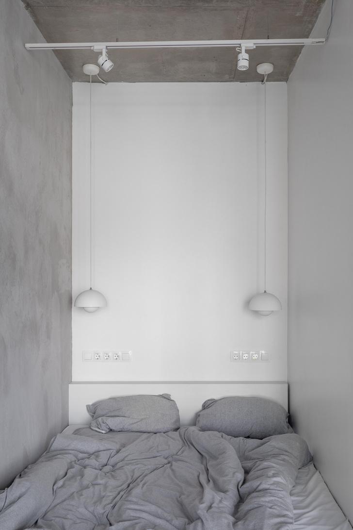 Фото №9 - Монохромная квартира 33 м² в Москве