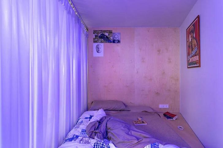 Фото №10 - Симфония цвета: маленькая многофункциональная квартира в Мадриде