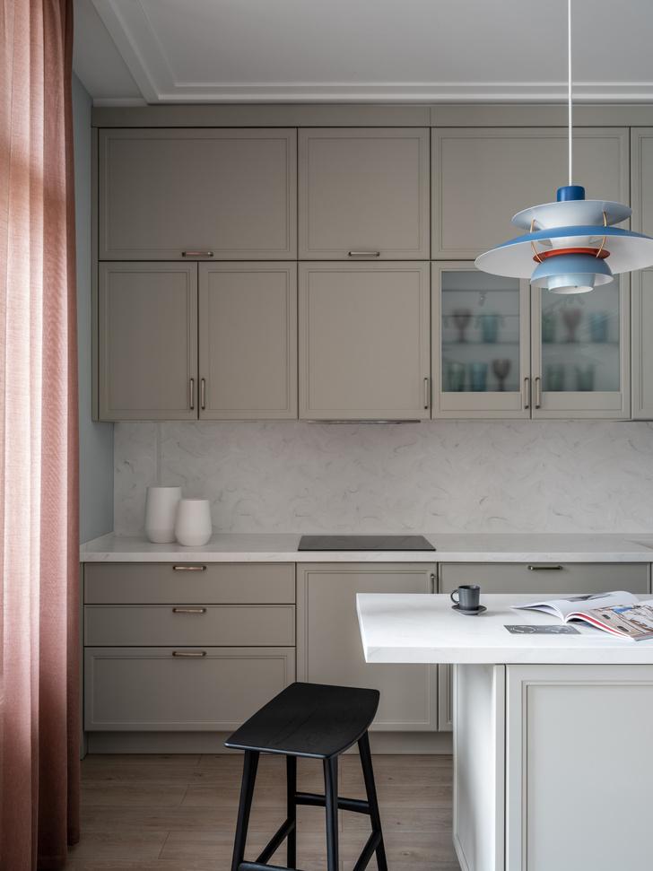 Фото №7 - Квартира 100 м² в оттенках зелени, моря, песка и заката