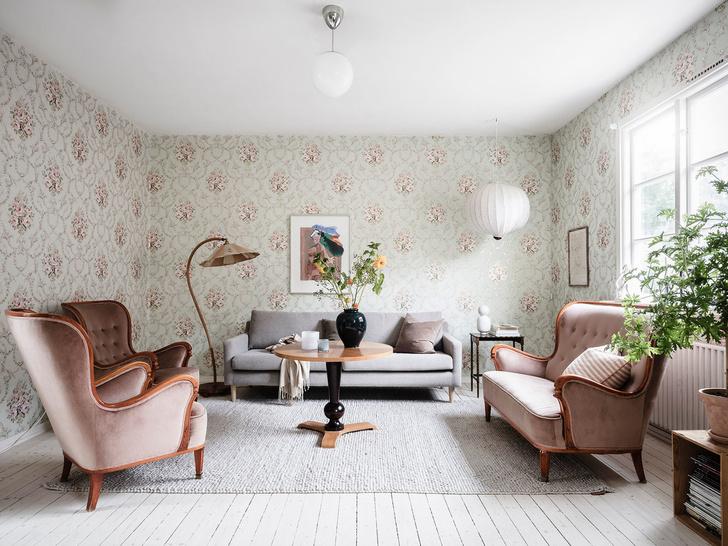 Фото №2 - Уютная квартира с мансардой в Швеции