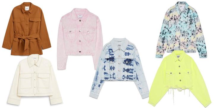 Фото №3 - Что купить: 6 цветных джинсовок, которые скрасят эту весну