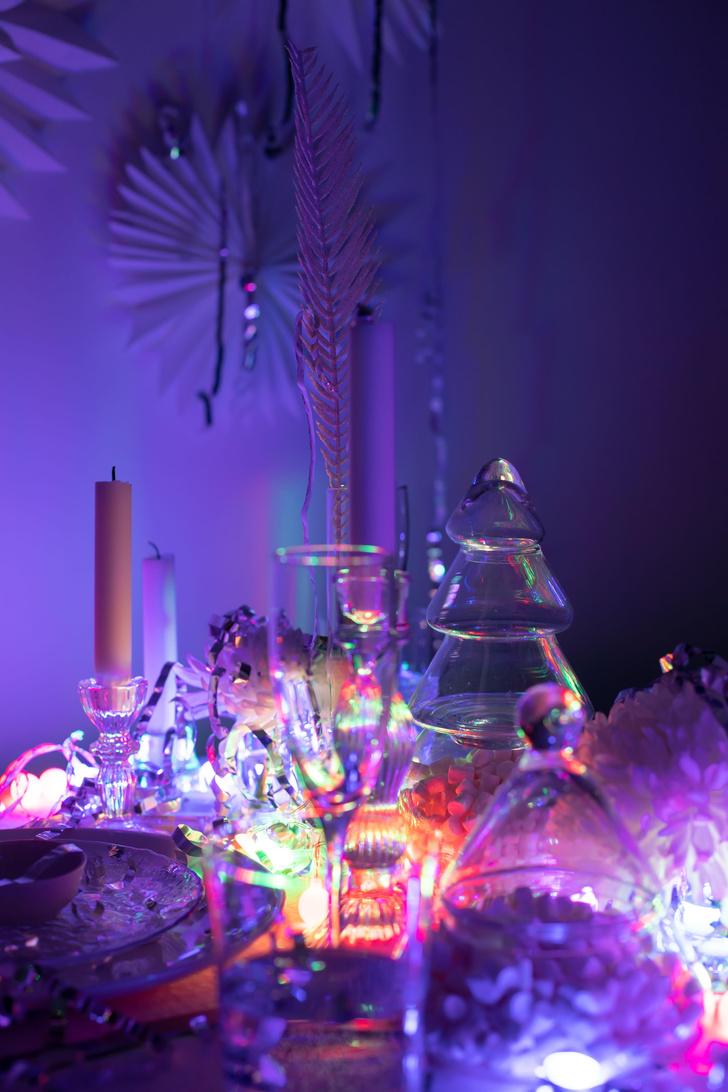 Фото №14 - Все к столу: три дизайнерские сервировки для главного праздника
