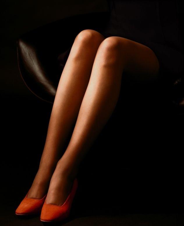 Фото №2 - Язык женских ног: определи характер девушки по тому, как она сидит