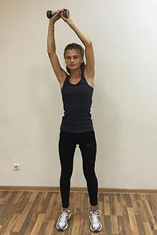 Упражнение для укрепления мышц кора