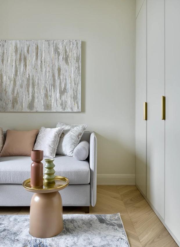 Фото №6 - Элегантный монохромный интерьер квартиры 85 м²