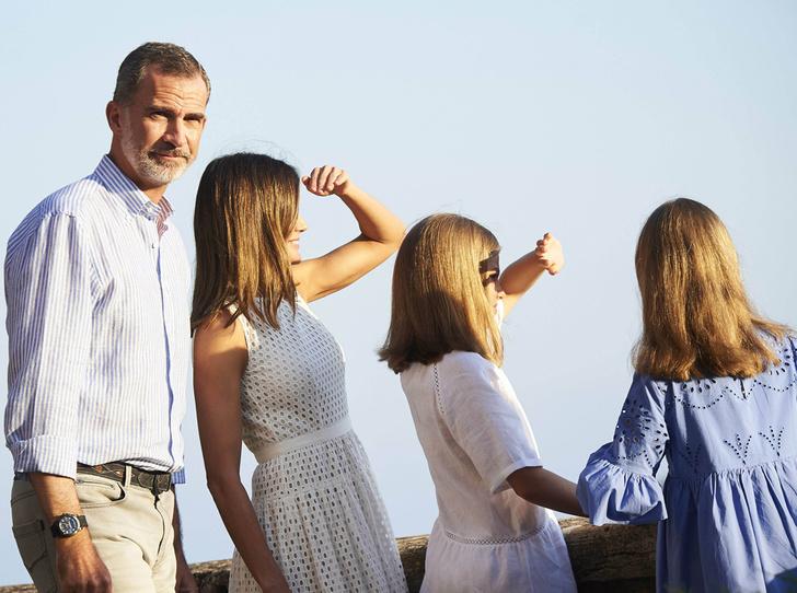 Фото №6 - Как любят отдыхать испанские монархи (фотосессия в обязательной программе)