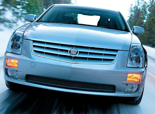 Фото №1 - Cadillac на платформе