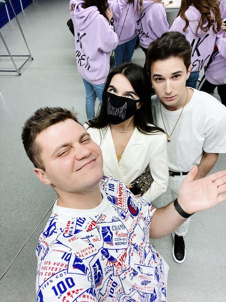 Фото №4 - «Носила маску, когда это еще не было мейнстримом»: Tenderlybae и Кирилл Диденок о буллинге, славе и новой музыке