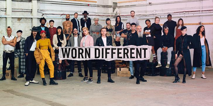 Фото №1 - #WORNDIFFERENT новая кампания от DR. MARTENS