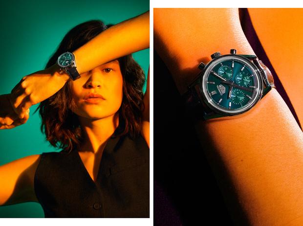 Фото №1 - Изысканные и утонченные: как выглядят новые часы TAG Heuer Carrera