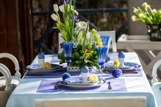 Фото №15 - Украшаем стол к Пасхе: идеи декора от Анны Муравиной