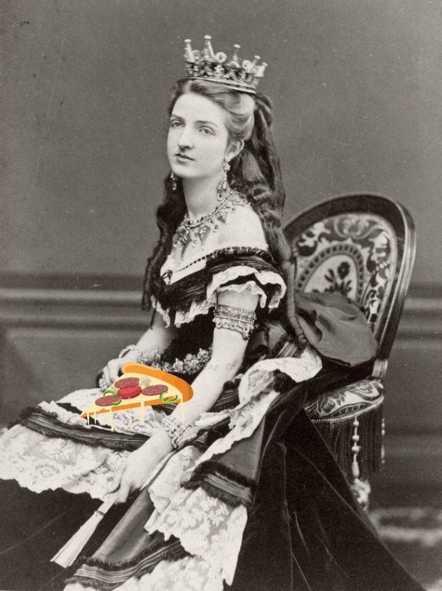Фото №1 - Открытие дня: пицца «Маргарита» была названа в честь королевы Маргариты Савойской