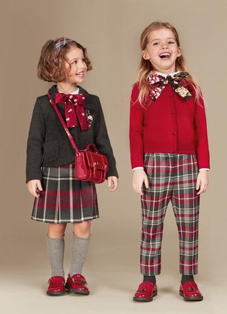 Фото №8 - Модные школьники: детская коллекция Dolce&Gabbana осень-зима 16/17