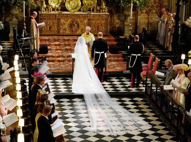 Фото №59 - Свадьба Меган Маркл и принца Гарри: как это было (видео, фото, комментарии)