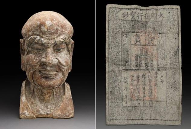Фото №3 - 9 странных предметов, найденных внутри статуй