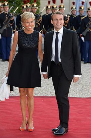Фото №5 - Брижит Макрон: женщина, стоящая за президентом Франции