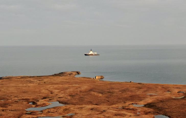 Фото №2 - Комплексная экспедиция РГО и Северного флота обследовала в Чукотском море затонувший пароход «Челюскин»