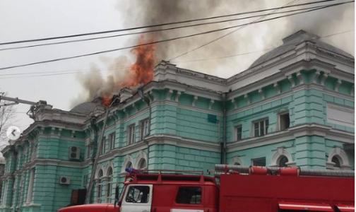 Фото №1 - В Приамурье во время пожара в клинике врачи продолжали операцию: пациент был со вскрытой грудной клеткой