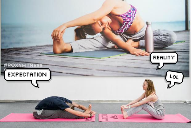 Фото №12 - Все, что ты хотела знать о йоге: мастер-класс от гуру Roxy Yoga