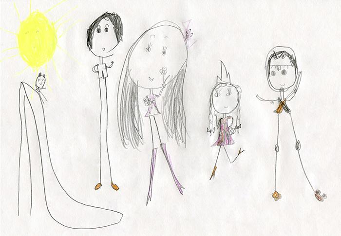 Фото №1 - Что означают чересчур длинные ноги на детском рисунке: мнение психолога