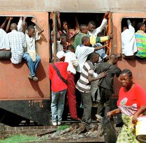 Фото №1 - 100 человек погибли при крушении поезда в Конго