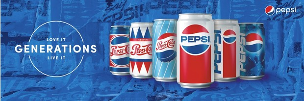 Новые банки Pepsi