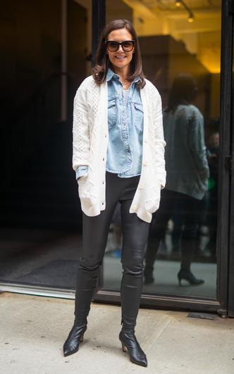 Фото №3 - Самая модная в Нью-Йорке: как одевается Кэти Холмс (и почему ее образы все повторяют)