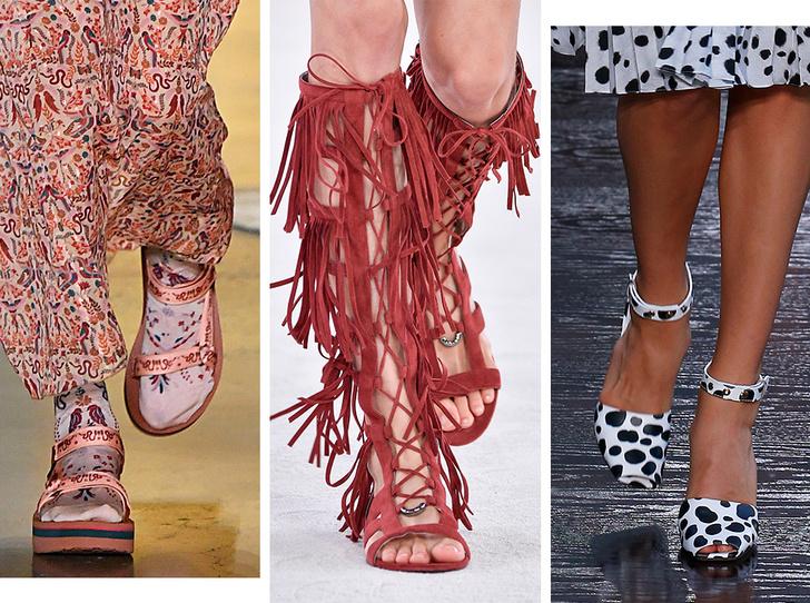 Фото №1 - Самая модная обувь весны и лета 2019