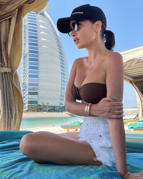 Фото №3 - Дубайские каникулы Ксении Бородиной