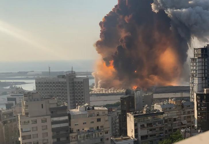 Фото №1 - Как выглядит взрыв в Бейруте в разрешении 4К и слоу-мо (видео)