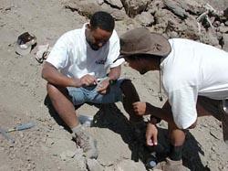 Фото №2 - Люди с прошлым, или скелеты в песке