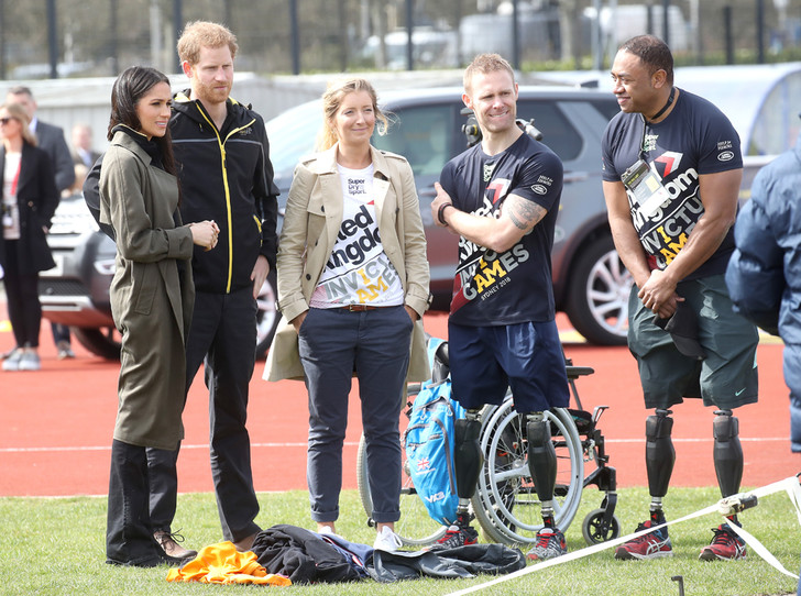 Фото №5 - Меган Маркл и принц Гарри приехали на спортивное соревнование