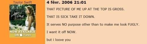 Фото №3 - OMG! Найден старый аккаунт Тейлор Свифт на MySpace