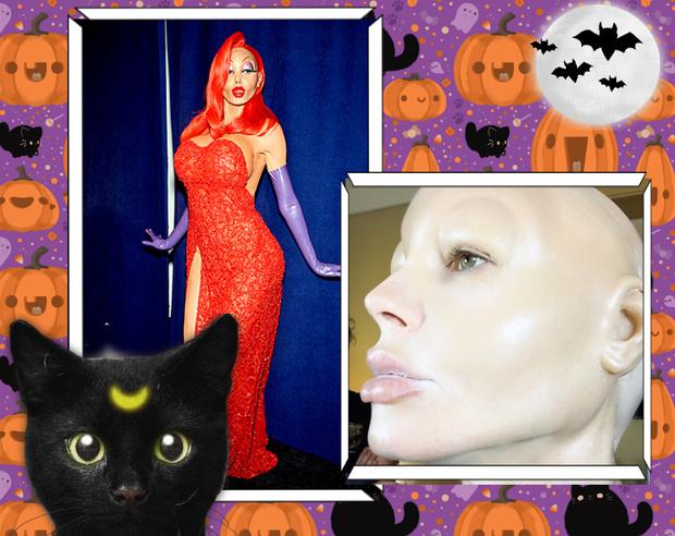 Фото №2 - Лучшие костюмы звезд с прошедшего Хэллоуина