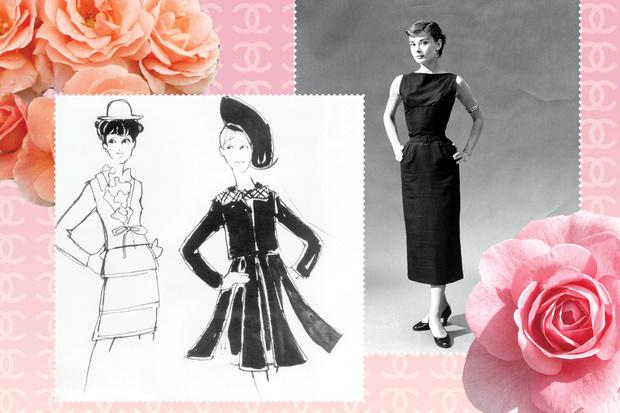 Коко Шанель маленькое черное платье