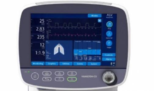 Фото №1 - Страховая компания закупила швейцарские аппараты ИВЛ для двух больниц Петербурга