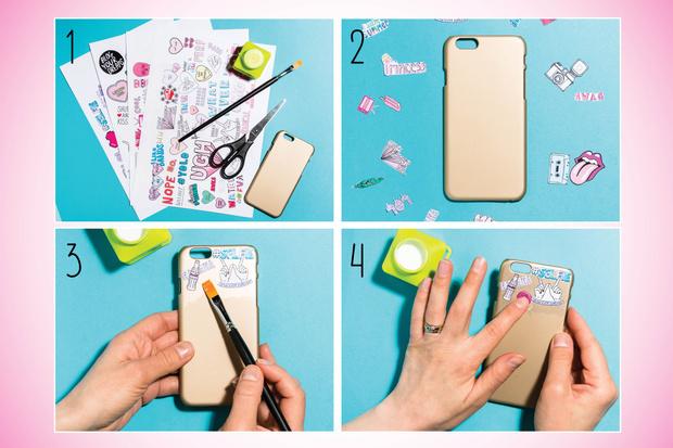 Фото №3 - Hand-made: Делаем красивый чехол для телефона