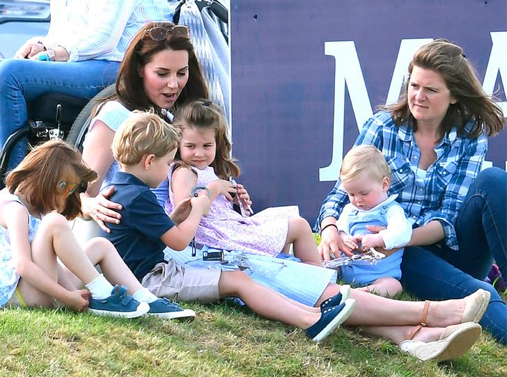 Фото №1 - По стопам Дианы: герцогиня Кембриджская нашла свое призвание в детях