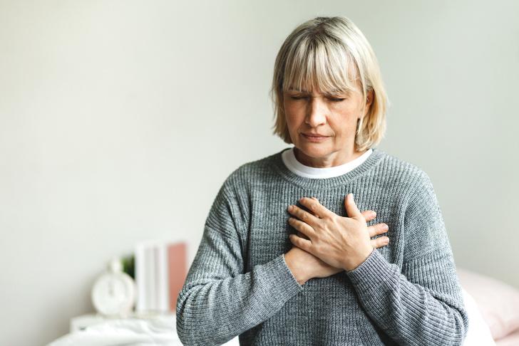 сердце приступ