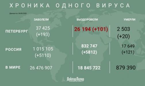 Фото №1 - За время эпидемии от коронавируса умерли более 2,5 тысяч петербуржцев