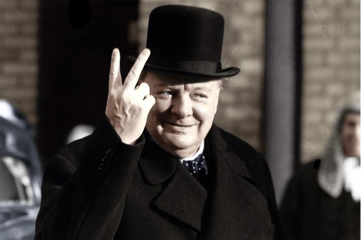 Фото №3 - V значит victory: 7 мифов о сэре Уинстоне Черчилле