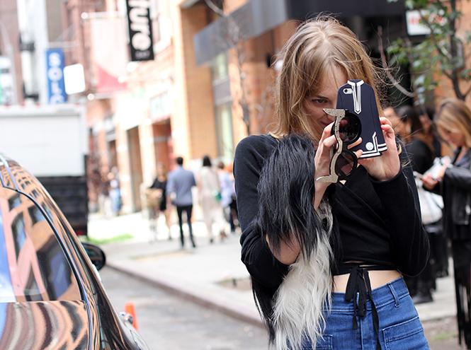 Фото №9 - Образы гостей недели моды в Нью-Йорке в прошедшие выходные