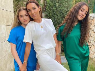Фото №1 - Три сестры: Алсу показала дочерей и потерялась между ними