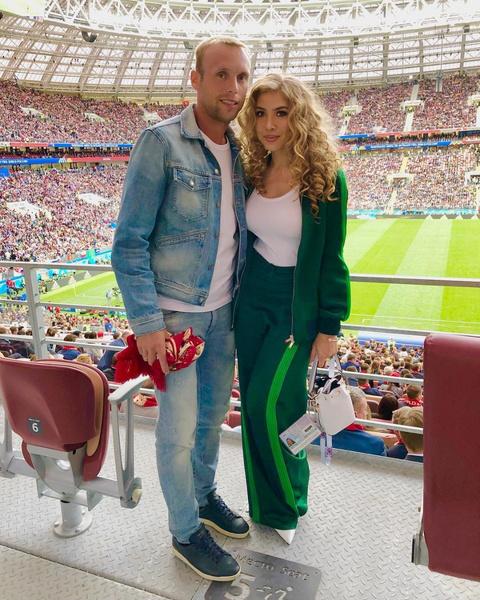 Денис Глушаков и Дарья Глушакова