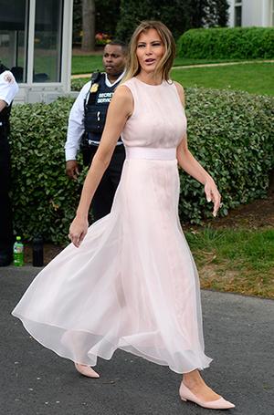 Фото №14 - Мелания Трамп: новые стандарты стиля Первой леди