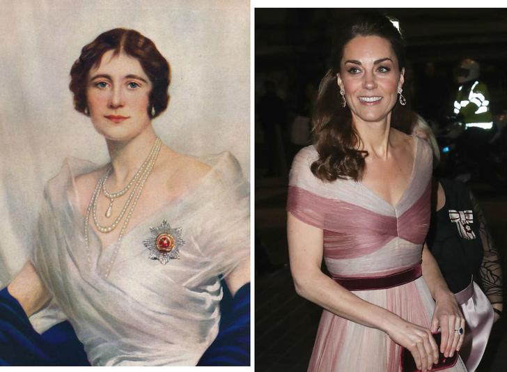 Фото №1 - Войти в историю: как и зачем Кейт копирует Королеву-мать