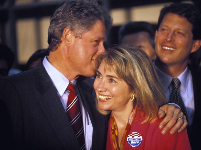 Фото №2 - Билл и Хиллари Клинтон: свободные отношения и слезы бывшей первой леди