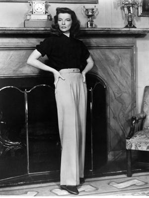 Кэтрин Хепберн, 1940 год.